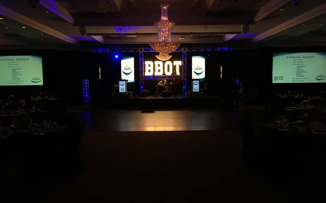stage design for your corporate gala toronto av services scotia